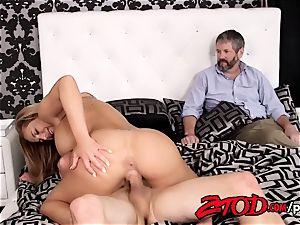 Olivia Austin pulverizes her stepson