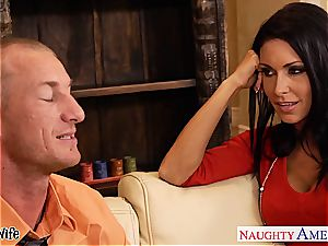big-chested wife Jessica Jaymes plowing well