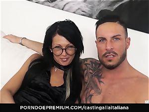 casting ALLA ITALIANA - kinky hump with local amateur