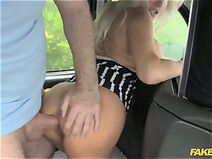 faux taxi porn industry star makes debut in london cab