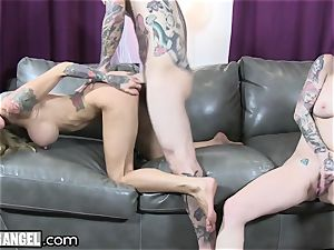 chesty inked cougar Cams With Joanna Angel