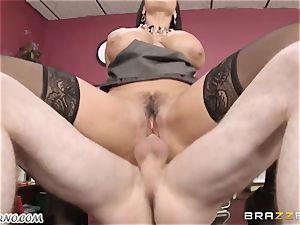 Lisa Ann - My big-boobed mature fuck-fest therapist