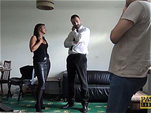 huge-boobed cougar Sienna Hudson gets her fuckbox hammered rigid