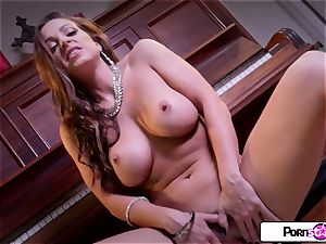 Abigail Mac show you how much she loves to cum for you