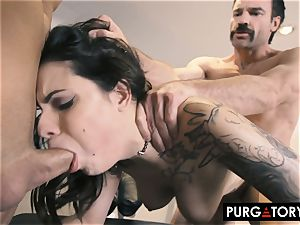 PURGATORY I let my wifey fuck 2 fellows in front of me
