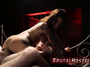tough restrain bondage and confined down stiff assfuck excited youthfull tourists Felicity Feline and Jade