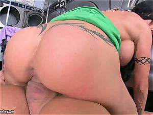 enormous jugged nubs juggles her tastey humid slit on a phat pulsing drill stick
