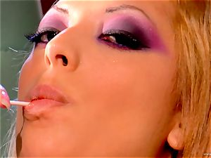 Audrianna Angel loves getting penetrated stiff and harsh