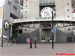 Alternative dutch escort gets pussynailed