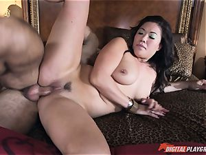 London Keyes plumbed in her jummy cunny pudding by the anchor guy
