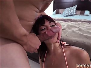 Maid punished with wand and euro harsh dual He poked her rear entrance until it