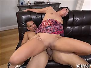 pleads for extreme restrain bondage raunchy buttfuck penetration fuck-fest for Lexy Bandera s birthday