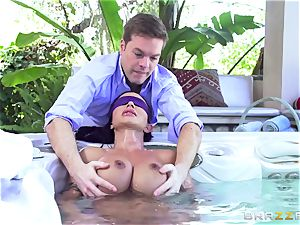 OMG! I pounded my greatest friend's big-titted crazy mummy beans Jade