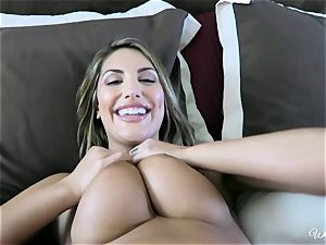 August Ames and Kenna James getting edible on webcam