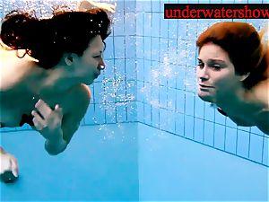 Andrea and Monica underwater girls