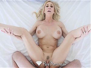 PUREMATURE milf vag wedged by enormous pecker