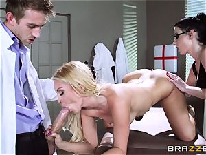 Aaliyah love and Veruca James get crazy at the surgery
