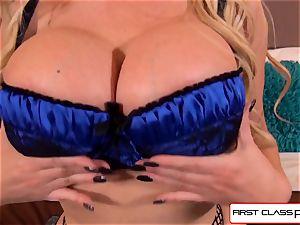 first-ever ClassPOV- giant ass Nikki Benz deep-throating a massive cock