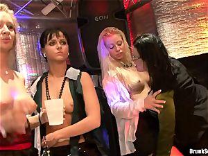Bibi Fox lock slot the key of a sizzling men with mates