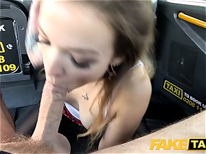 faux taxi diminutive Kylie Nymphette muff plumbed