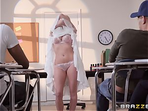 Christie Stevens bent over and torn up doggie-style