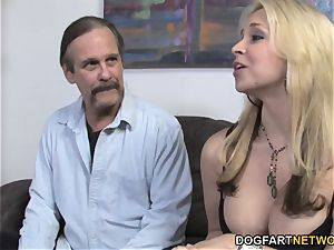 Sarah Vandella Takes big black cock nads Deep - cuckold Sessions