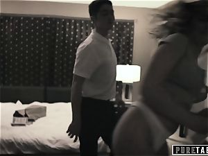 pure TABOO Tricking Momma's boy StepBro into banging!