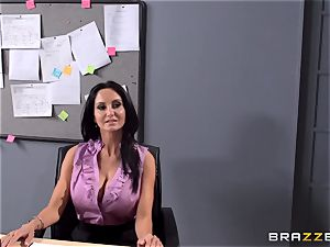 big-titted educator Ava Addams is ravaged by her college girl