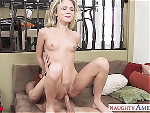 exquisite Dakota Skye painted white after a poke